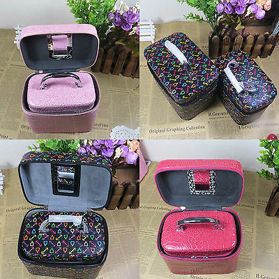 New Fashion Cosmetic Storage Display Gift Case Jewellery Double Boxes #2