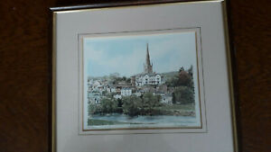 Limited-print-edition-283-850-of-Ross-On-Wye-by-Philip-amp-Glyn-Martin-framed