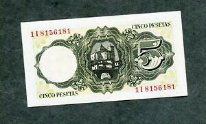 BILLETE-5-PESETAS-1951-CON-SERIE-1I8156181-SC-SIN-CIRCULAR-es-capicua