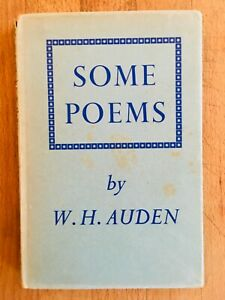 SIGNED-Some-Poems-by-W-H-Auden-Faber-Second-Impression-1941-Faber-Gay-Poetry