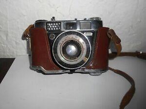 Ancien appareil photo KODAK Retinette IB Pronto LK dans son étui