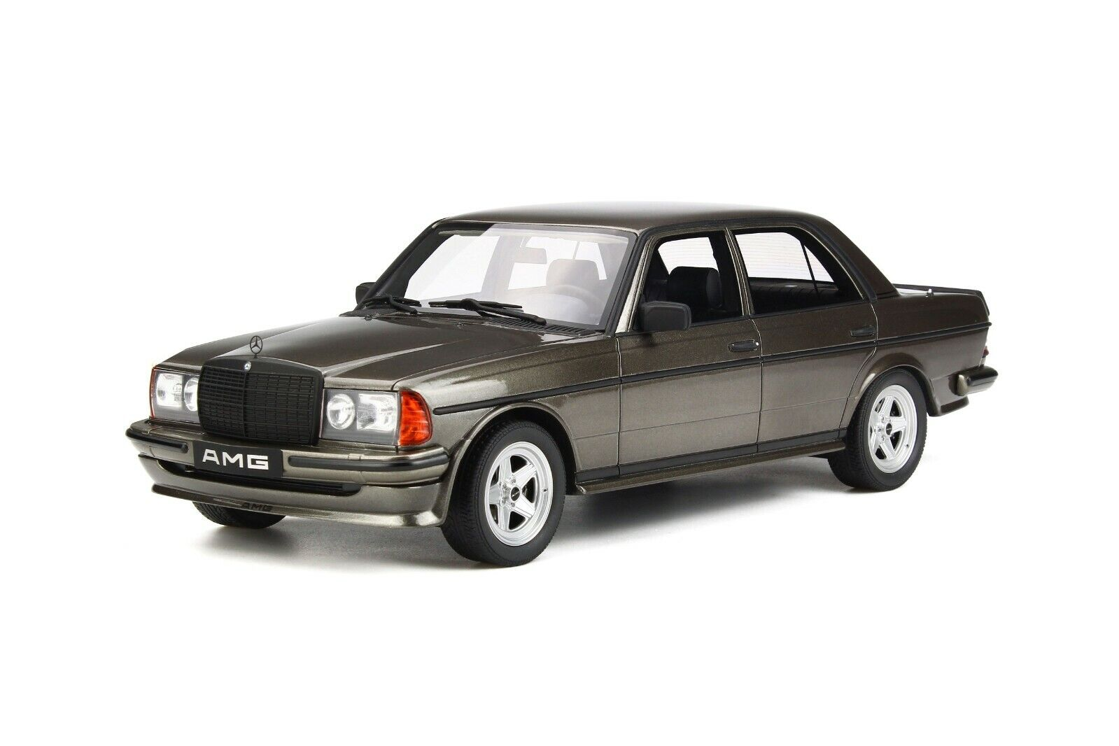 Mercedes-Benz AMG 280E Sedan W123 Anthracite Metallic 1980 Otto Mobile OT750