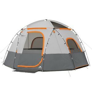 Ozark Trail 9 Person Sphere Tent With Rope Light Outdoor