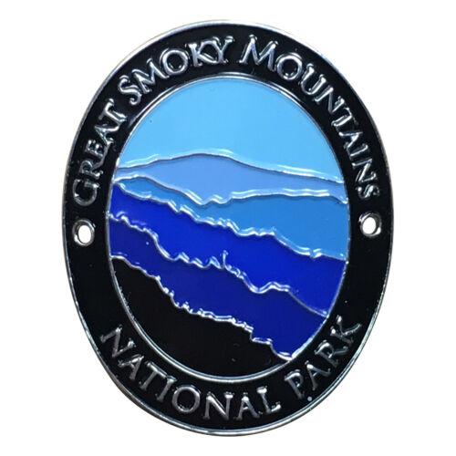 Great Smoky Mountains National Park Walking Hiking Stick Medallion Appalachian
