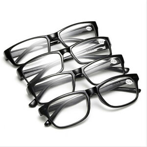 7be8babec49f 1 3 5 Men Ladies Frame Magnifying Reading Glasses Nerd Spectacle ...