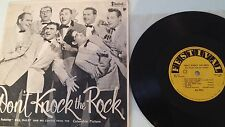 BILL HALEY 10inch 25cm LP DON'T KNOCK THE ROCK 1950s AUSTRALIA FESTIVAL RARE