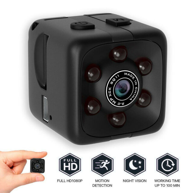 HD 1080P Wireless Mini Spy Camera Wifi IP Security Camcorder Night Vision DVR -