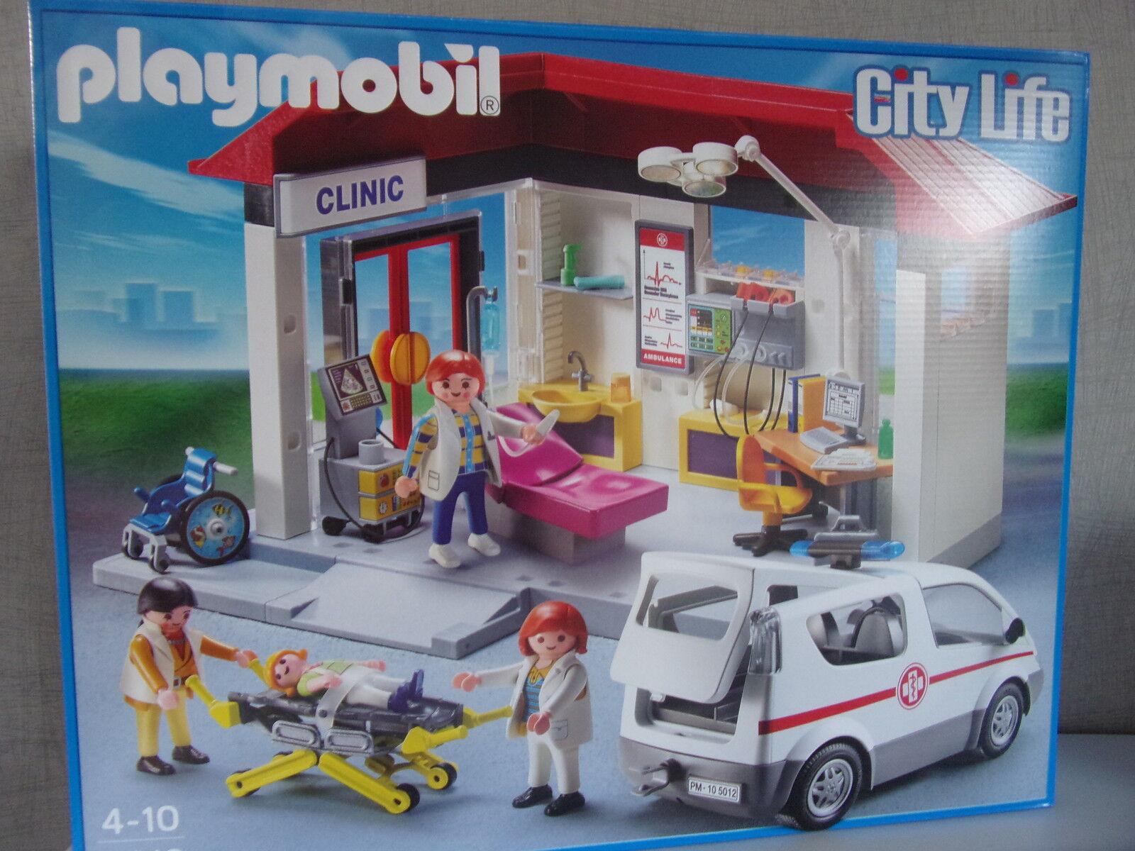 Jugarmobil City Life 5012 Ambulancia con la Ambulancia - Nuevo y Emb. Orig.