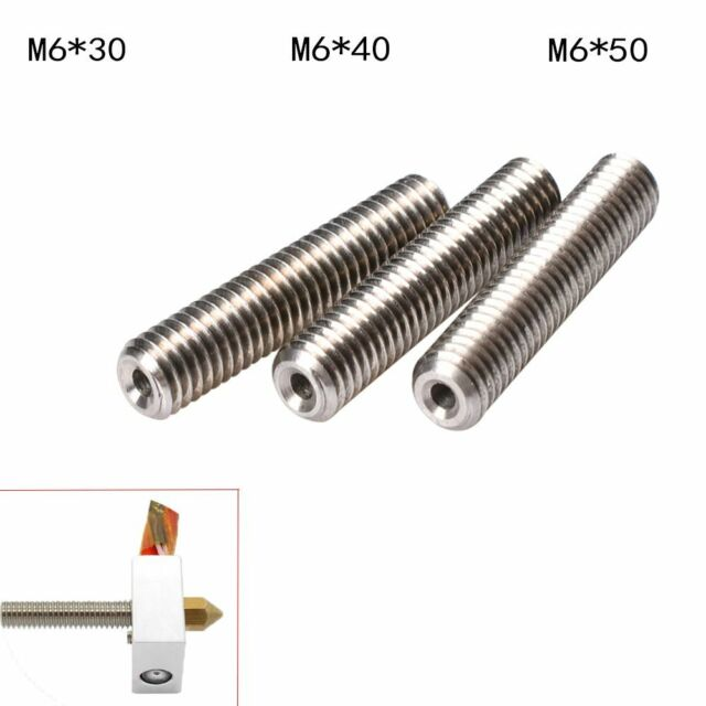 MK8 Makerbot Stainless Steel Pipe Tubes 3D Printer Parts Nozzle Throat