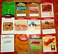 Brillion Sales Brochures Amp Spec Sheets Lot Of 12 Cultivator Mulcher Ripper Ampmore