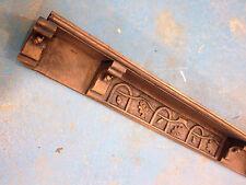 Shelf rack rail plate delft carved oak wood trophy figurine pack of 6, replica