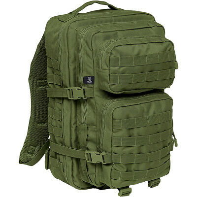 Brandit Nos Cooper Mochila Gran Asalto Militar Mochila Ejército Molle Pack Oliva