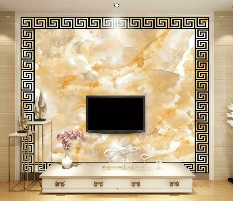 3D Marble Texture N1481 Wallpaper Wall Mural Removable Self-adhesive Sticker Amy