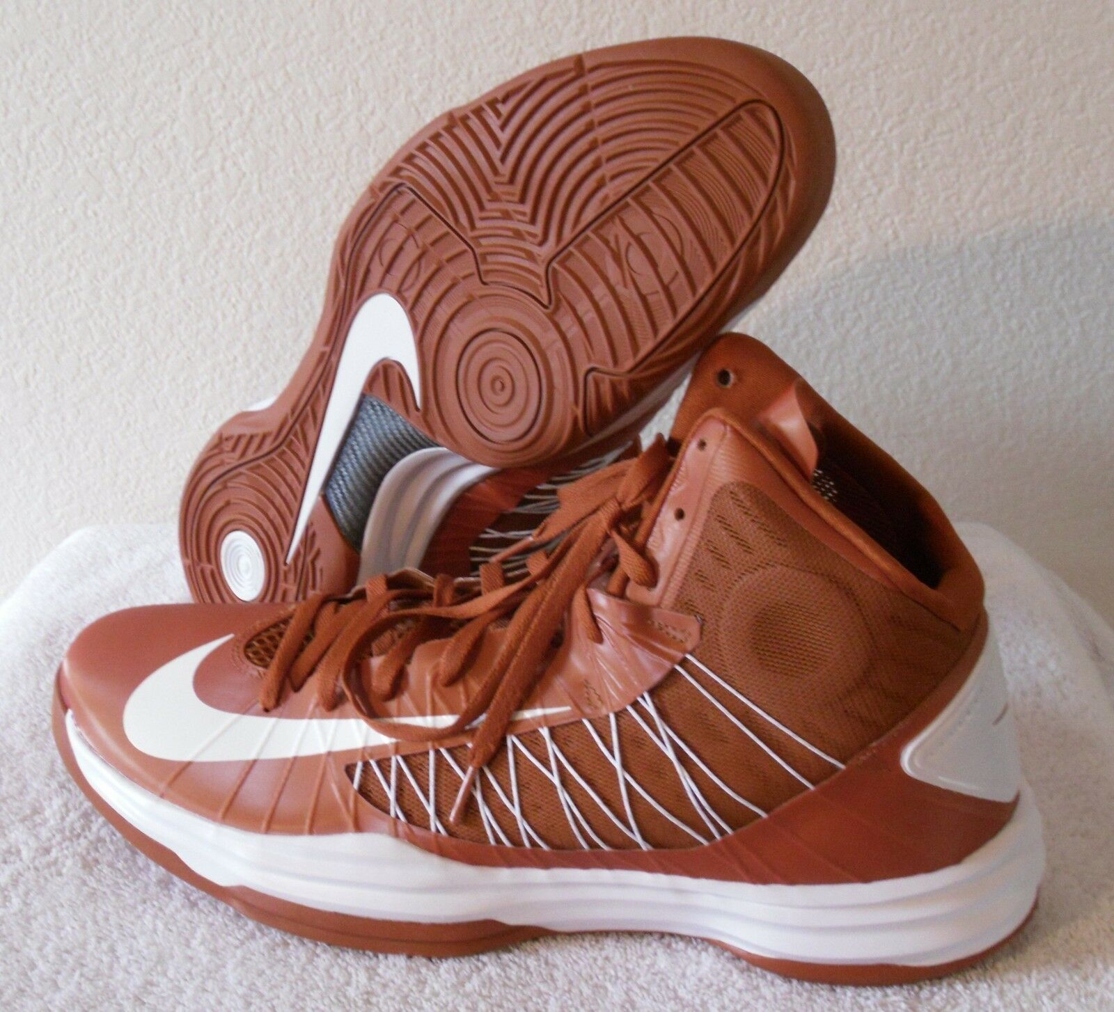 NEW Nike Hyperdunk TB Mens Basketball shoes 17.5 Burnt orange MSRP 125