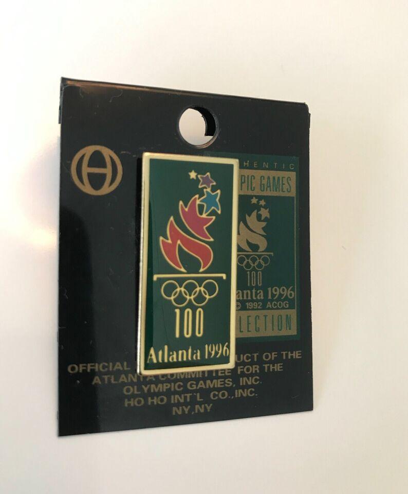 Emblemer, Pins, Olympiske Lege Atlanta 1996