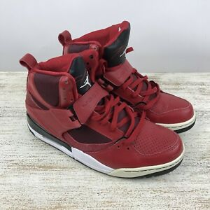 NIKE AIR JORDAN FLIGHT 45 HIGH VARSITY RED BLACK WHITE Mens 11  56b4f7994