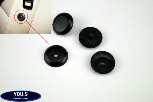 2 x Universal Kunststoff Stopper für Sicherheitsgurt NEU Schwarz