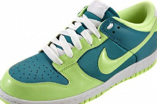 donna Nike Dunk Low in pelle turchese verde Gr  38,5 tempo libero VANDAL Force 317813-431
