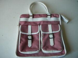 Toile Jaeger Rose À Vintage Sac Bag En Porté Main AqY4xrZq