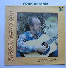 MAC WISEMAN - Golden Classics - Exellent Condition LP Record Gusto GT-0049