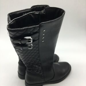 So Kids Boots, Black Leather Kohl's