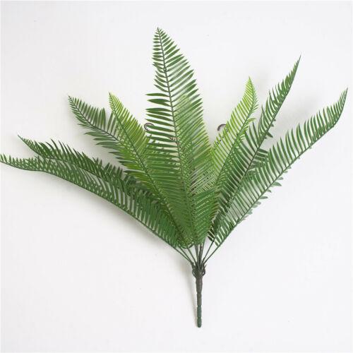 1 Bunch Artificial Cycas Palm Leaves Fake Cycas Palm Tree Branch Cycas Fern Leaf