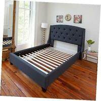 Standard Queen Size, Wooden Bed Slats Bunkie Board Frame For Any Mattress Type