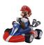Super Mario Bros Figure Japan Anime Luigi Dinosaurs Donkey Pull Back Car Kid Toy