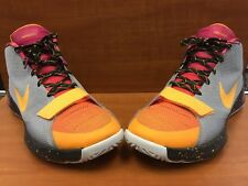"buy popular b292e d547d item 2 Nike Kevin Durant KD Trey 5 III LMTD ""PB J"" Silver Black Orange  812558-090 Sz 14 -Nike Kevin Durant KD Trey 5 III LMTD ""PB J""  Silver Black Orange ..."