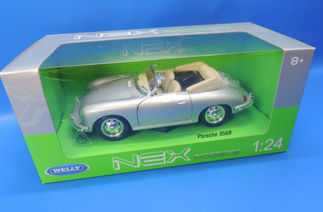 Welly Porsche 356B silber 1:24