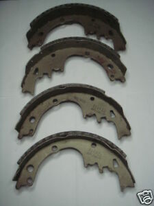 RELINED OLD STOCK 241RP BRAKE SHOES WESTERN AUTO VINTAGE