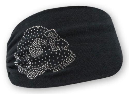 Harley-Davidson Women/'s Embellished Krystal Skull Headband Scrunchie RETIRED!!