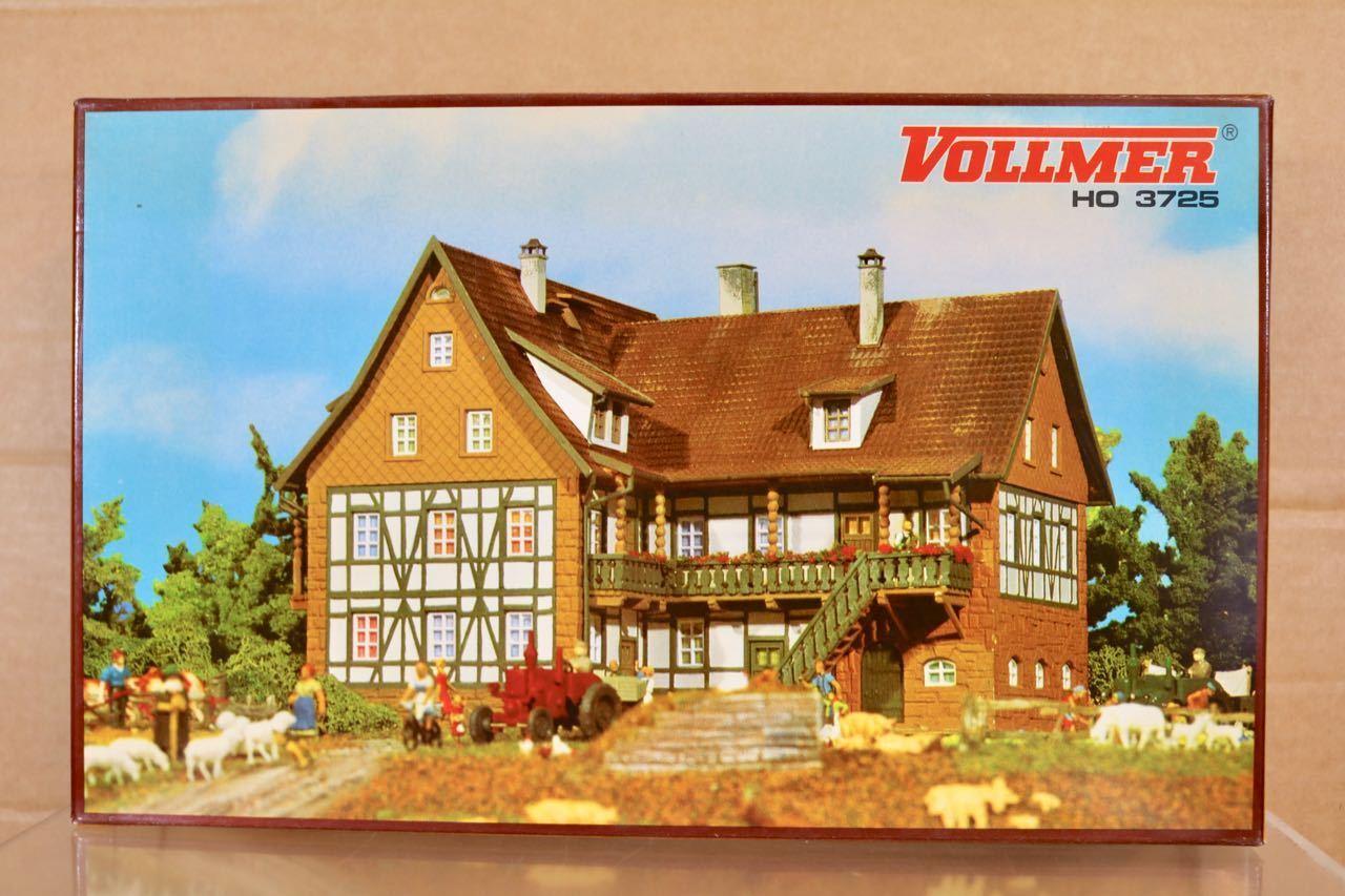 Vollmer 3725 Ho Maßstab Old Time Großer Bauernhof Haus Sonnenhof Modellbausatz