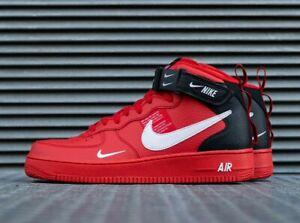 Dettagli su Nike Air Force 1 AF1 Mid'07 LV8 | UK 14 EU 49.5 US 15 | 804609 605 mostra il titolo originale