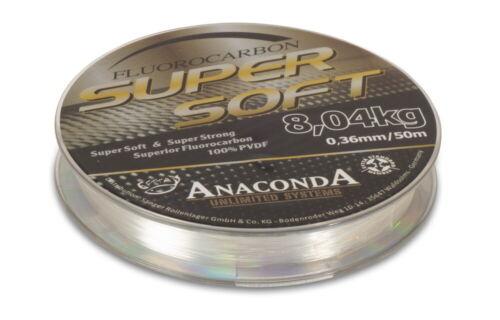 Vorfachschnur Sänger Anaconda Super Soft Fluorocarbon 0,32mm