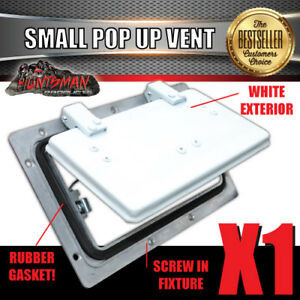 Image Is Loading Small White Pop Up Roof Air Vent Trailer