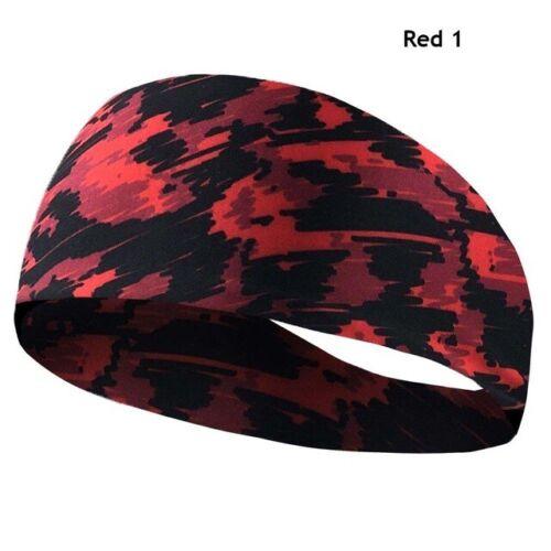 Sports Sweatband Headband Yoga Gym Running Stretch Hair Band For Men Women