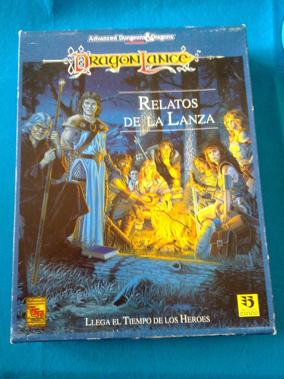 Rol AD&D 2ª - Dragonlance, Relatos de la lanza (caja) - RL513