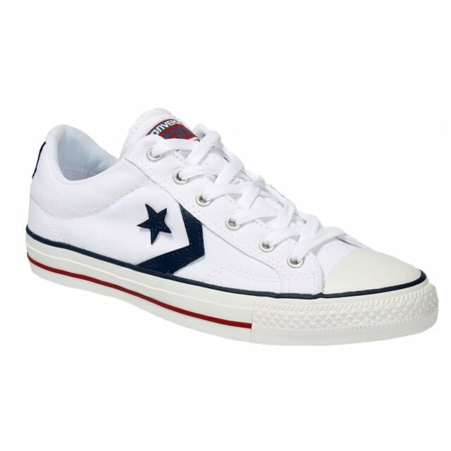 8b2add589746 Unisex Converse Star Player Ox Canvas White Branded Footwear Shoes ...