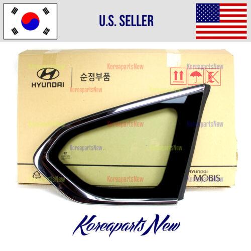 REAR Quarter Panel Window Glass Right PASSENGER ⭐OEM⭐ Hyundai Santa Fe 2019-2020