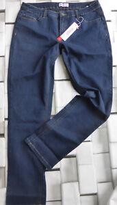 Sheego-Stretch-Jeans-Size-40-to-52-Dark-Blue-Blue-366-086-New