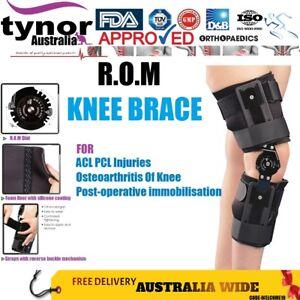 e3d3540fa4 Tynor Orthopaedics ROM Hinged Knee Brace Post-Op ACL PCL Injuries ...