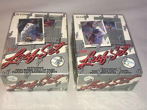 1990 Leaf Baseball Series 1& 2 Sealed Unopened Box 36 Packs Sosa Walker Thomas