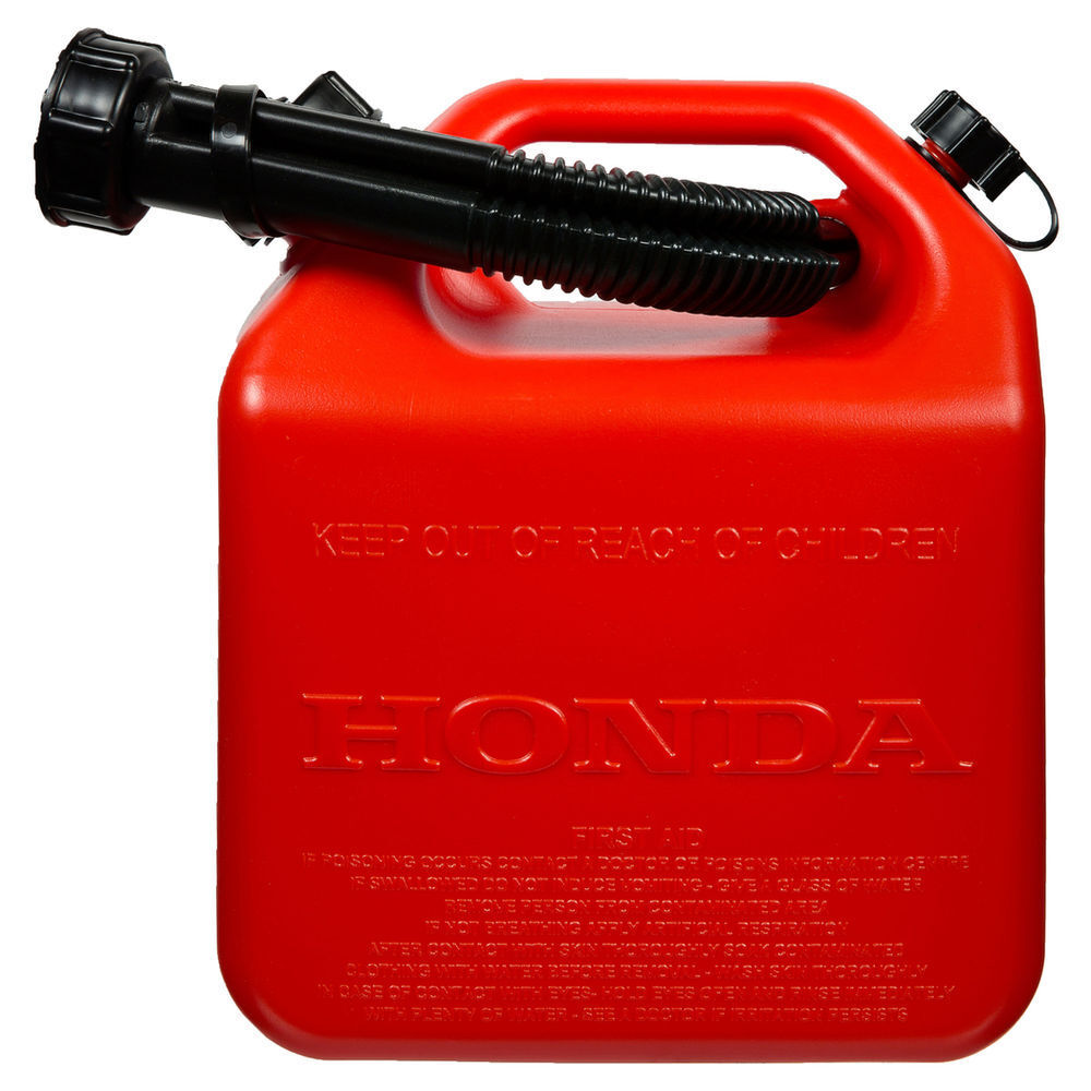 Honda Plastic FUEL CONTAINER with Level Markers 5L Genuine Part