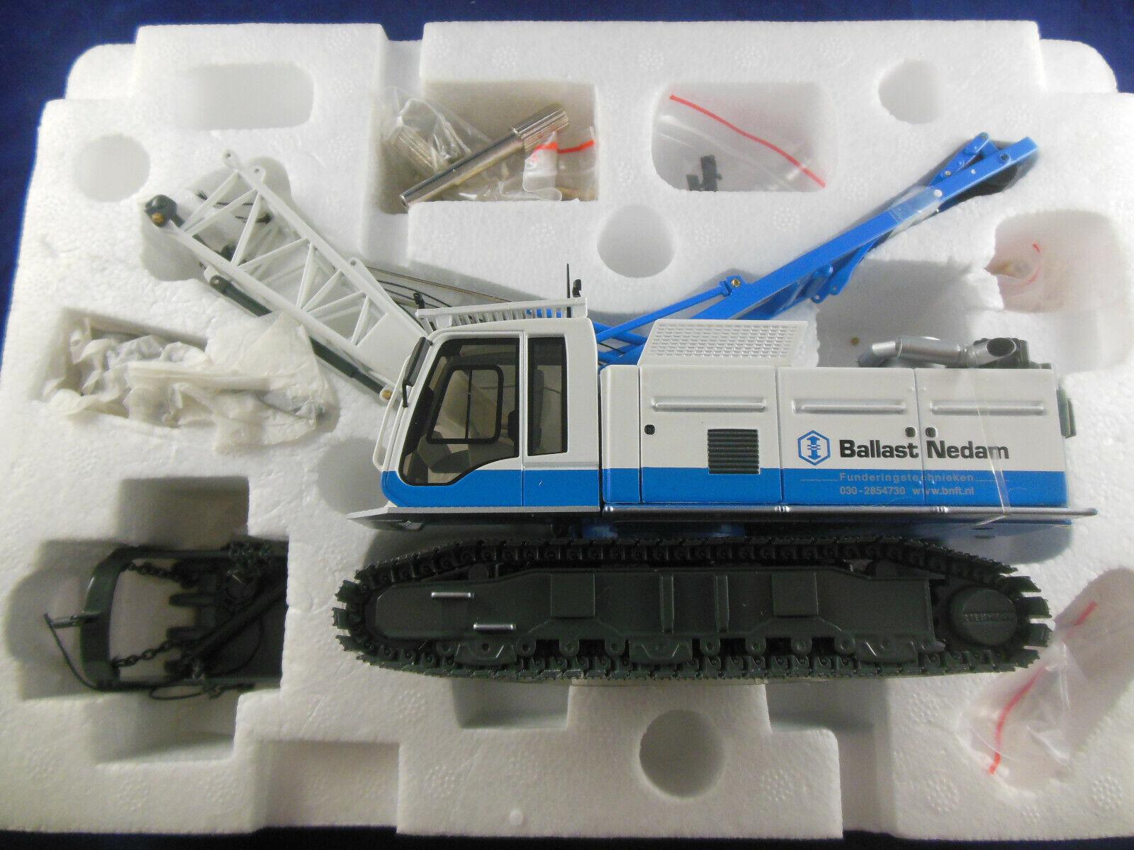 NZG Art. 728 02 Liebherr HS855 HD Litronic Duty Cycle Crawler Crane 1 50 Scale