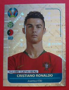 PANINI-EC-EURO-2020-sticker-POR6-CRISTIANO-RONALDO-PORTUGAL-new