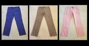 Pantalone capo 770 leggero stile uomo tinto dritto nuovo J Crew Chino in RwxUngqrPR