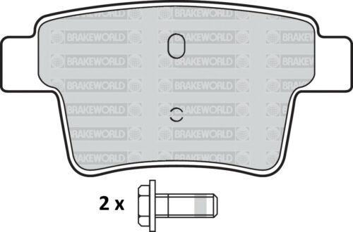 OEM SPEC FRONT AND REAR PADS FOR FORD MONDEO SALOON /& HATCH 2.2 TD 2004-07