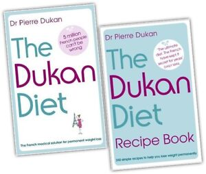 The-Dukan-Diet-Recipe-2-Book-Collection-Set-Diet-plan-weight-loss-heathy-eatin