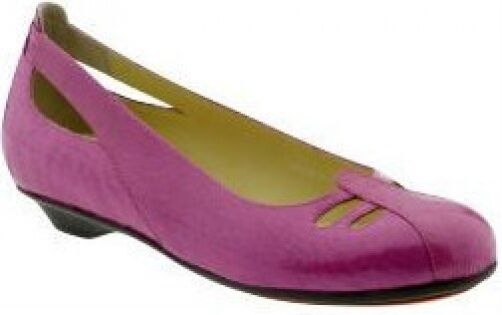 Crocs You by Crocs Bali flats fuchsia leather 8.5 M NEW